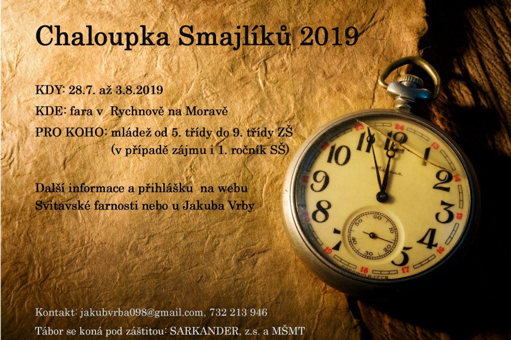 Chaloupka Smajlíků 2019