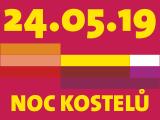 Logo Noc kostelu 2019